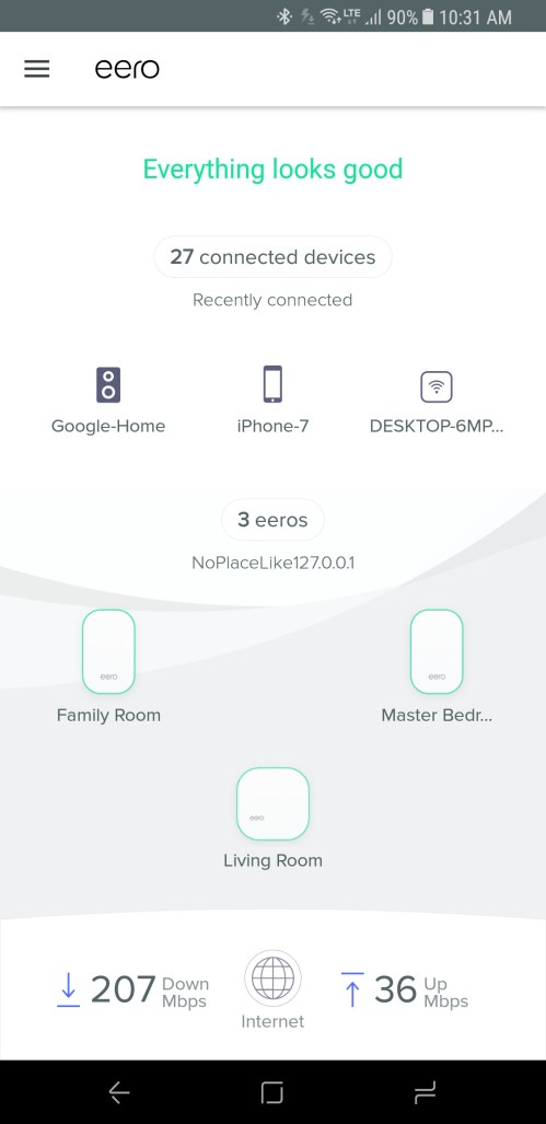 small resolution of based on my experience in my own four bedroom 2 500 square foot home the new eero performs just as well as the prior version blanketing my home with a
