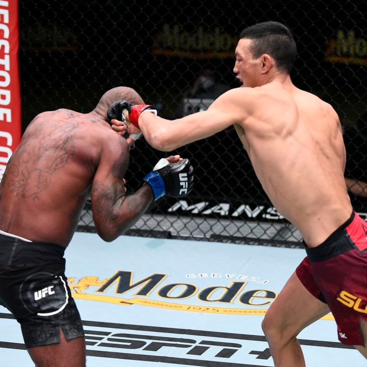 It wasn't Malcolm Gordon's night after he dropped his second straight defeat in the UFC to Su Mudaerji | Figueiredo vs Gordon
