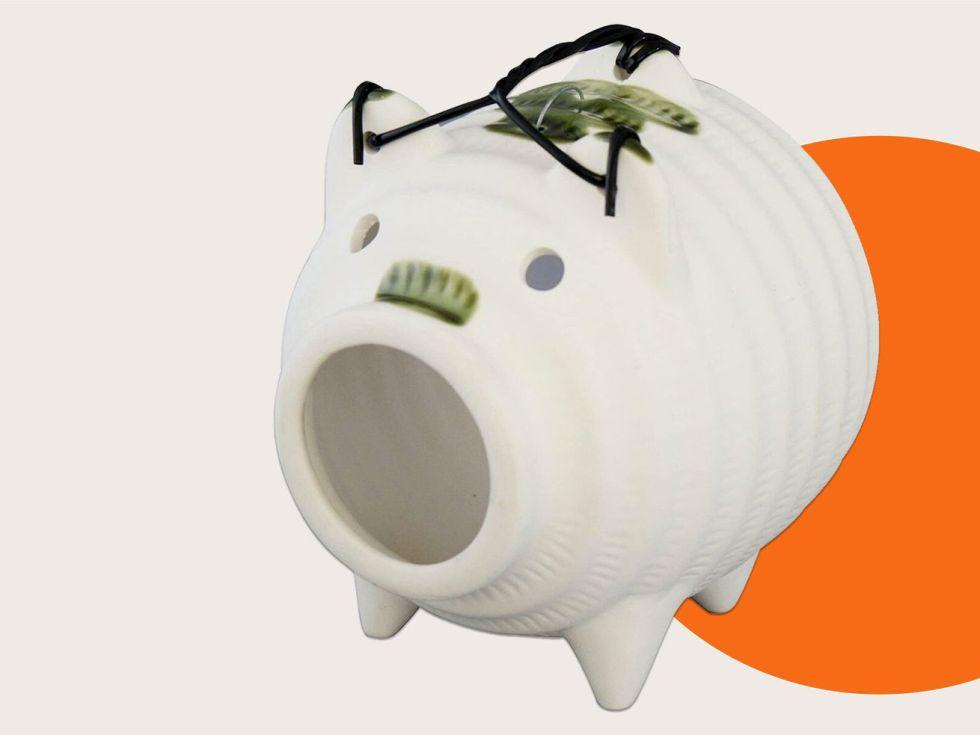 A ceramic mosquito pig