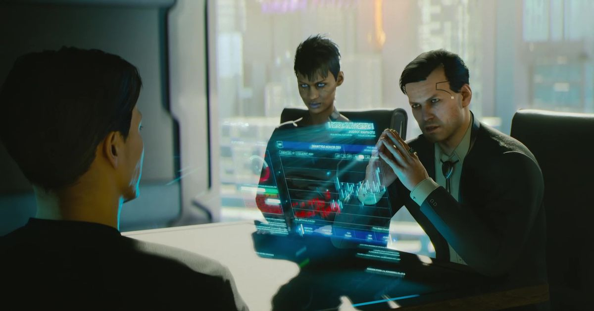 What Were The Codes In The Cyberpunk 2077 Trailer At Xbox