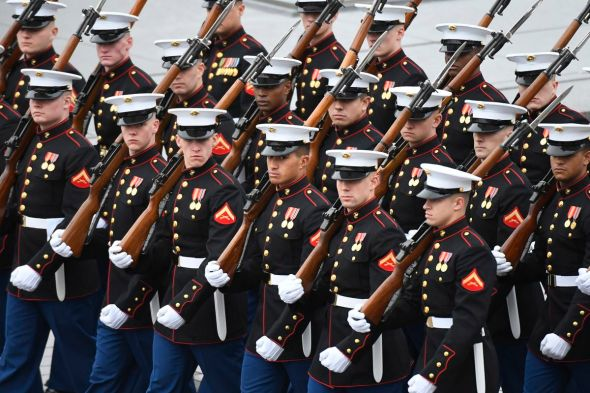 US Marine Corps issues video statement on naked photo sharing scandal - The Verge