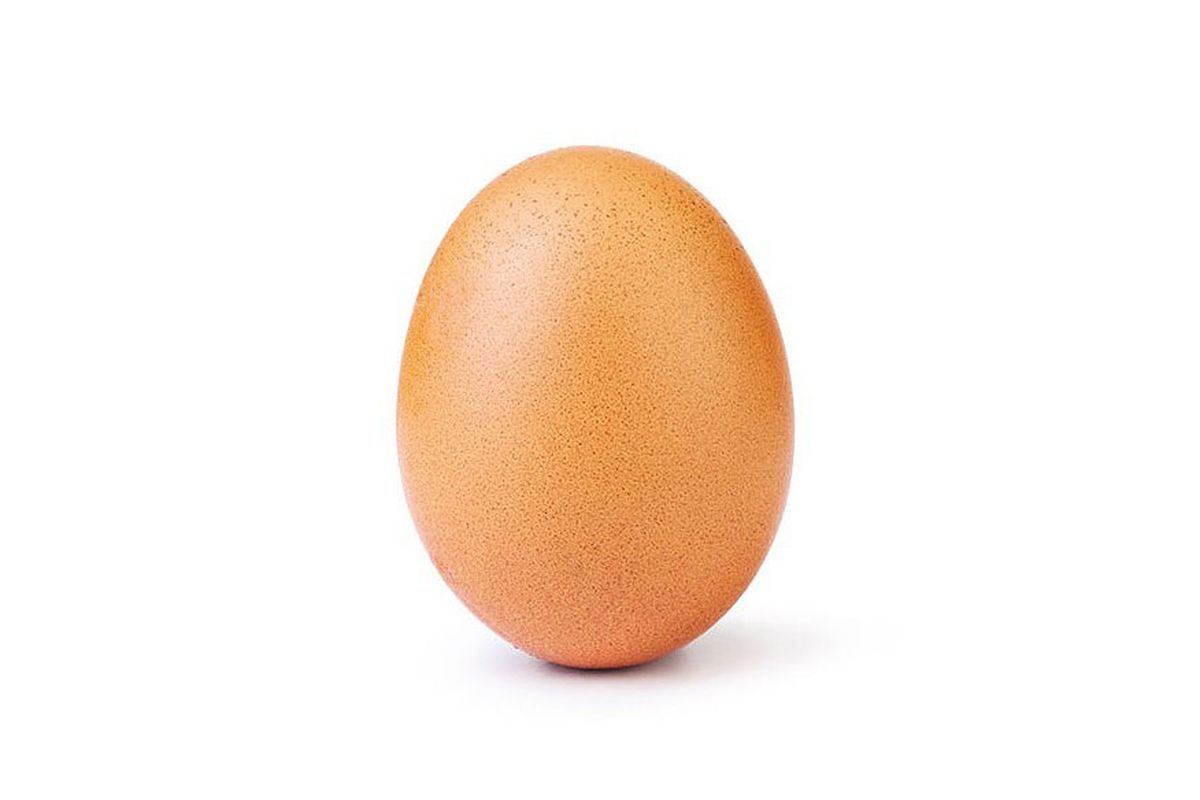Egg picture beats Kylie Jenner as mostliked Instagram
