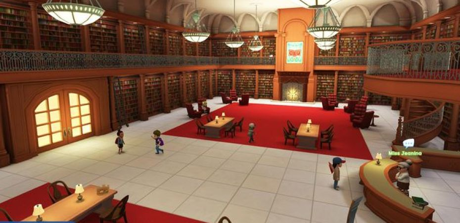 Adventure Academy combines early online social hubs with MMO