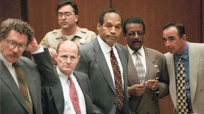 OJ Simpson and his legal team