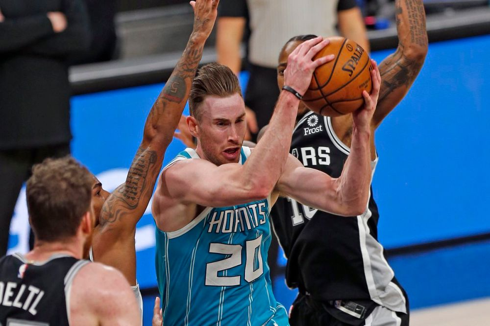 Recap: Hornets grind out win over the Spurs to snap three game losing  streak, 100-97 - At The Hive