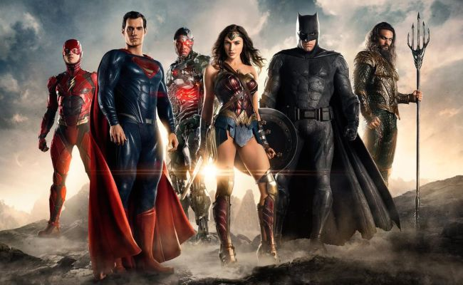 Here S The First Image Of The Justice League Together At