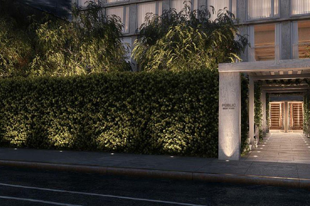 hotel with kitchen new york framed chalkboard for jean georges vongerichten 39s public restaurants open