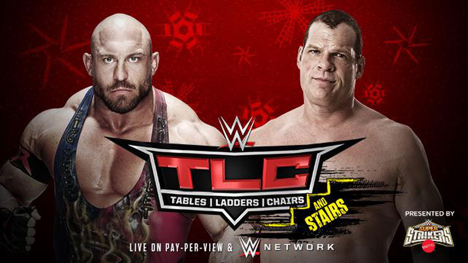 WWE TLC 2014 match card preview Ryback vs Kane
