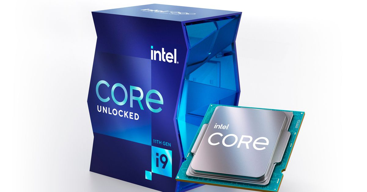 Intel's 11th Gen desktop chips are here with faster speeds but fewer cores