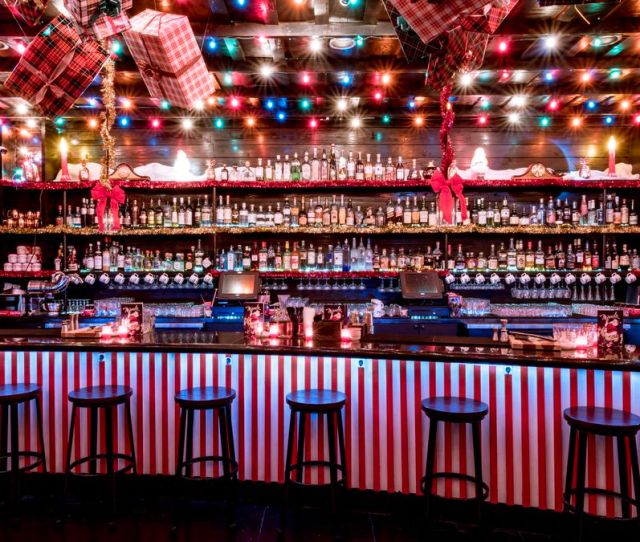 Embrace The Holiday Spirit At Pop Up Cocktail Bar Miracle