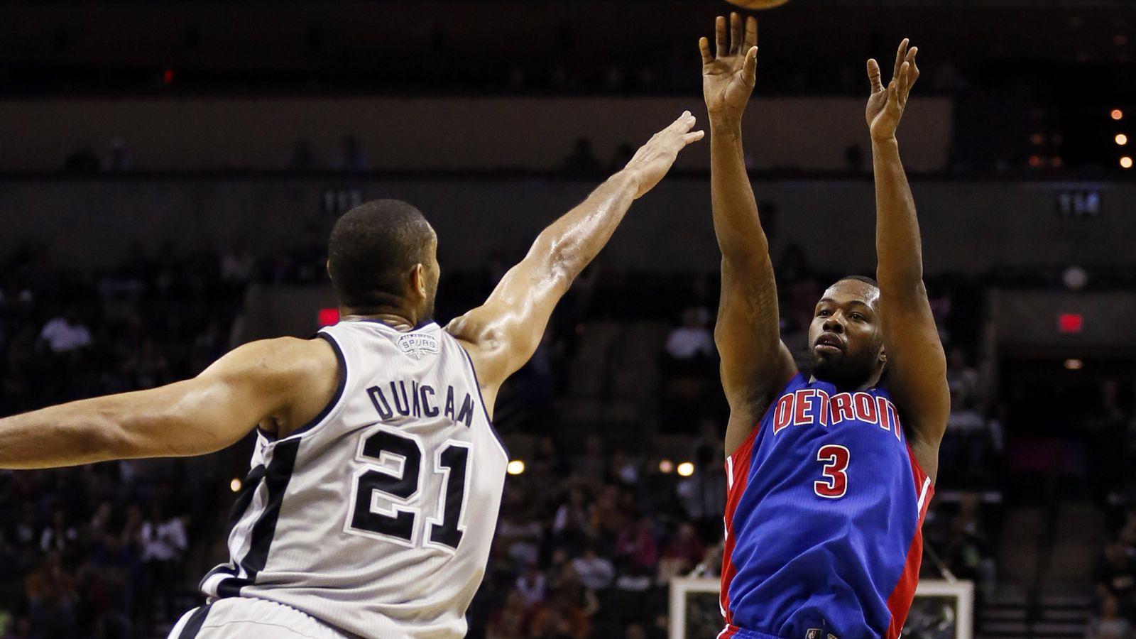 Game Preview: San Antonio Spurs at Detroit Pistons - Pounding The Rock