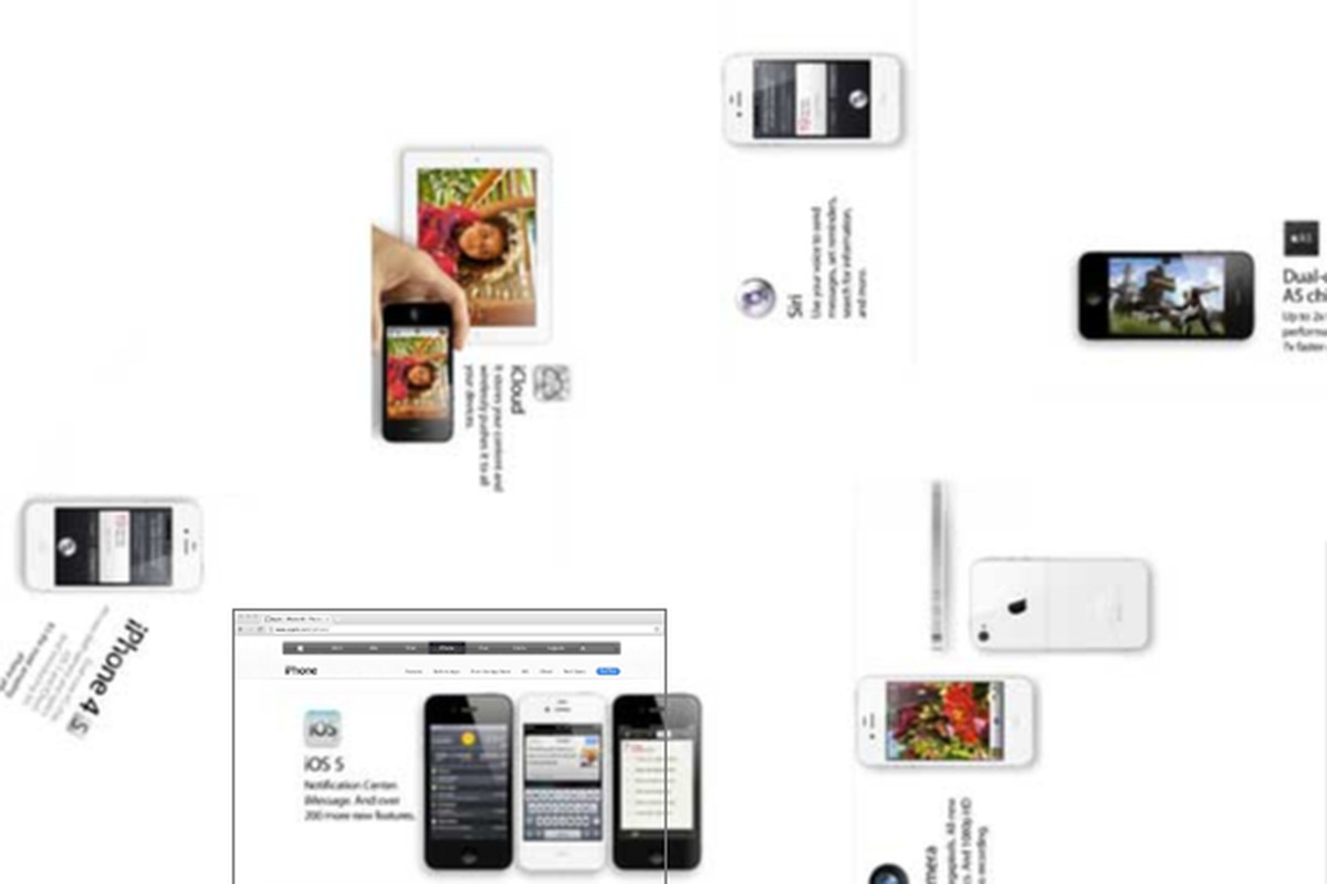 Apple's iPhone 4S CSS animation shows extra design detail