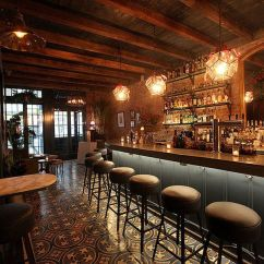 Kitchen Banquettes Cork Floors In Bo's, A New Orleans-style Bar And Restaurant - Eater Ny