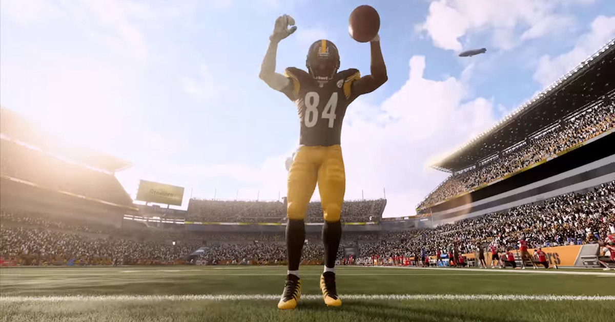Madden NFL 19s Cover Athlete Is Steelers Antonio Brown Polygon