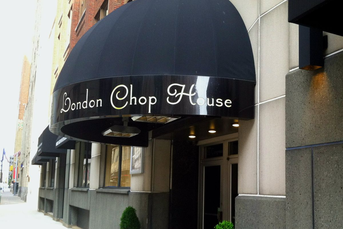 London Chop House Delivers Classics Onyx Is An