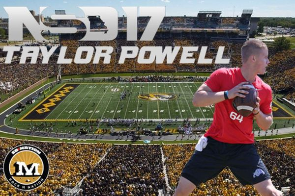 National Signing Day 2017 Quarterback Taylor Powell Signs