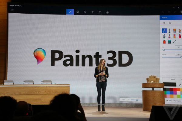 Microsoft announces Paint 3D, the biggest update ever to ...