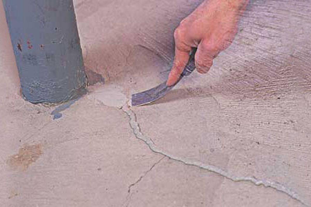 foundation crack repair in 8 steps