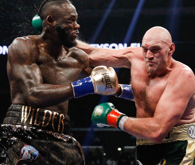 Deontay Wilder Vs Tyson Fury  Live Round By Round Updates Mma
