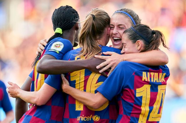 Barcelona women's team to be proclaimed league champions - report ...
