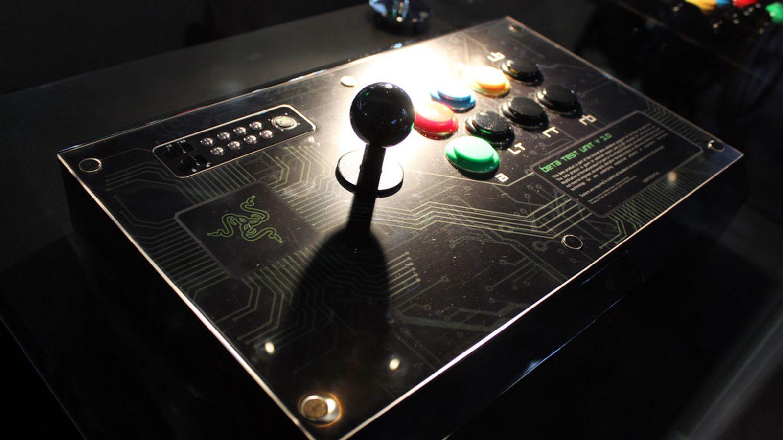 Razer Arcade Stick handson a better joystick even in beta  Polygon