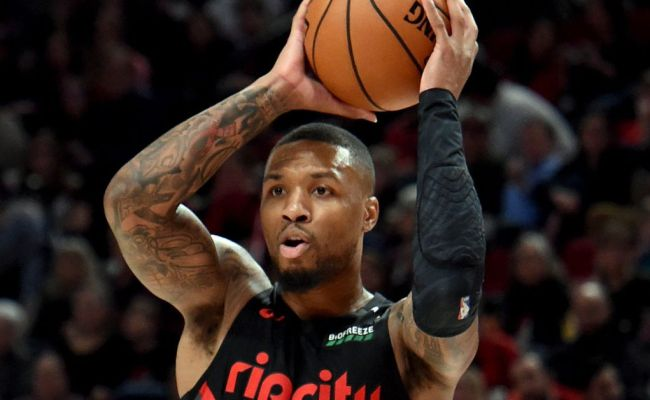 Damian Lillard Helps Nba Celebrate Chinese New Year