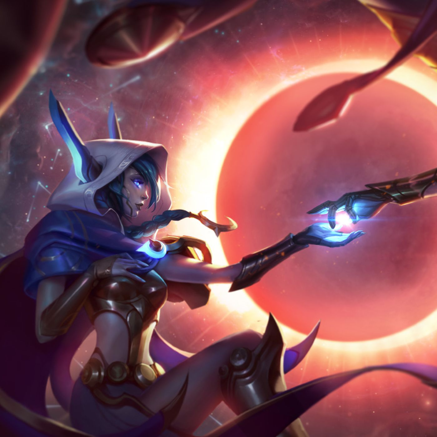 Xayah and Rakan release skins: Cosmic Dusk and Dawn join Cosmic ...
