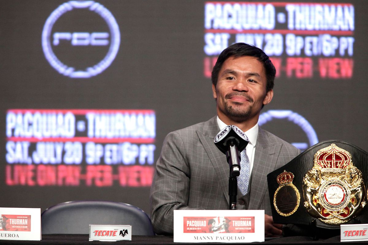 Manny Pacquiao helping provide COVID-19 test kits in Philippines ...