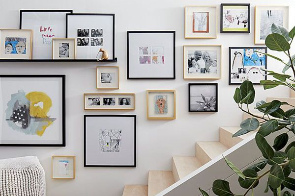 Affordable Frames Hanging Art Home - Curbed