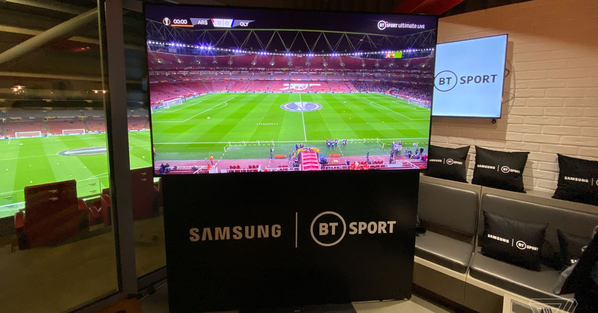 First look at 8K HDR sports streaming coming to the UK this summer