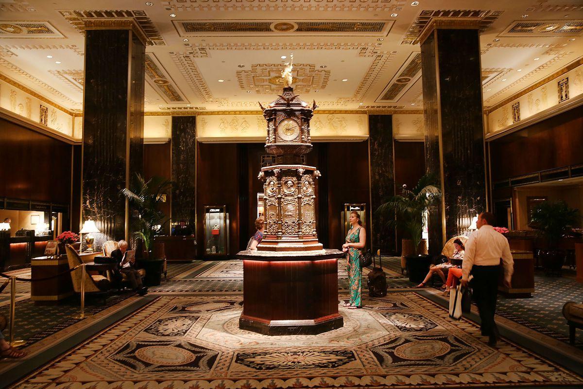 Waldorf Astorias iconic Art Deco interiors become an NYC
