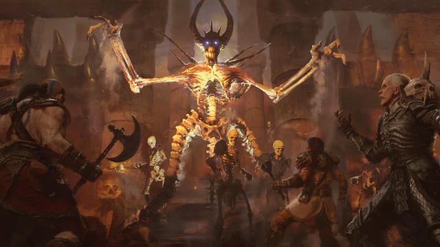 D2R___Mephisto.0 Diablo 2: Resurrected helped me love my brain   Polygon