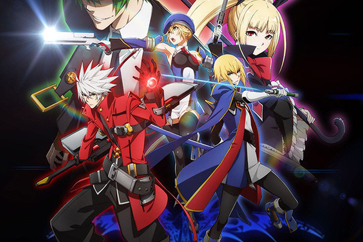 blazblue fighting game franchise