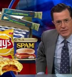 stephen colbert took on myplate the usda s new symbol that has replaced the food pyramid which he calls his favorite egyptian mortuary based nutritional  [ 1200 x 800 Pixel ]