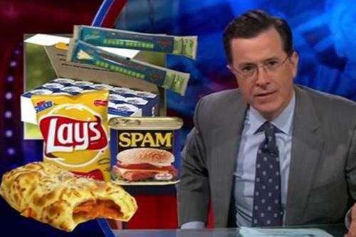 small resolution of stephen colbert took on myplate the usda s new symbol that has replaced the food pyramid which he calls his favorite egyptian mortuary based nutritional