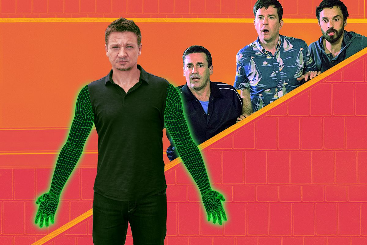 An Extremely Close Examination Of Jeremy Renners Cgi Arms