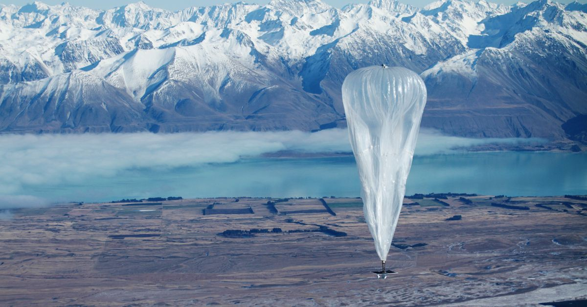 Alphabet is shutting down Loon, its internet balloon company