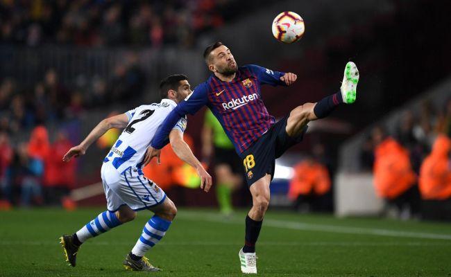 Barcelona Vs Real Sociedad La Liga Final Score 2 1