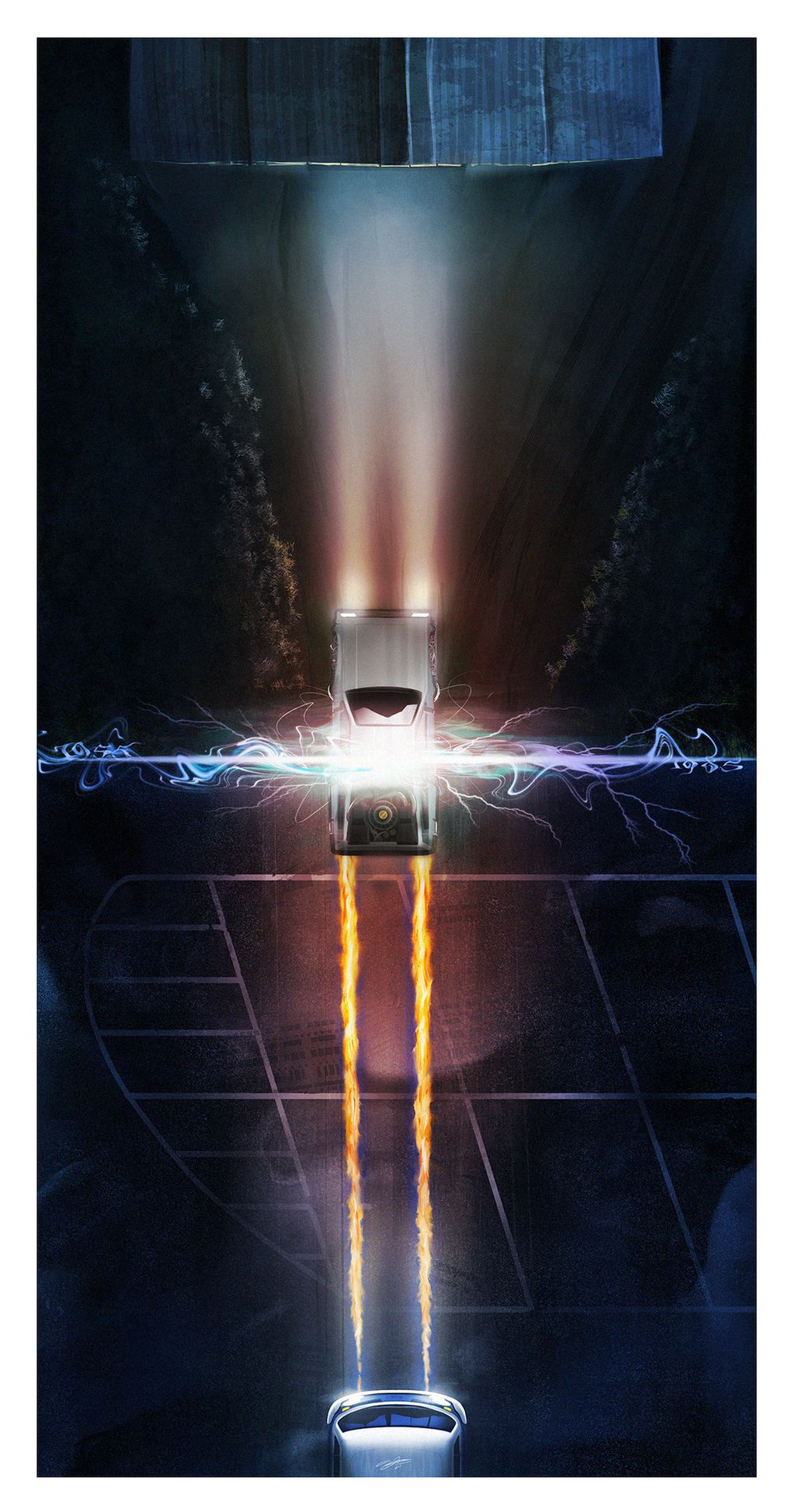Iphone X Verge Wallpaper These Back To The Future Posters Show Time Travel In An
