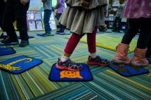 Preschool Walking Feet