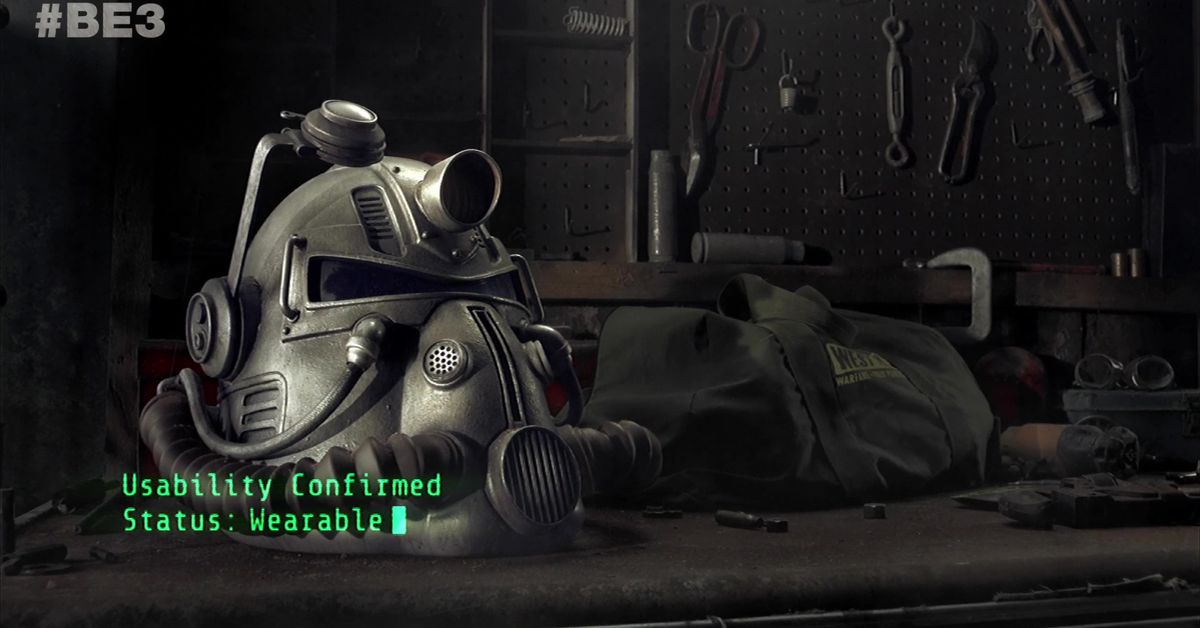 Fallout 76 Power Armor Edition Contents Wearable Helmet