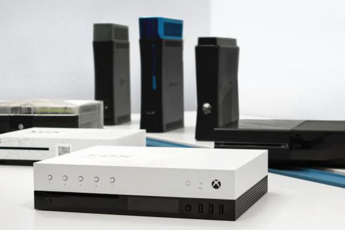 Microsofts Project Scorpio Dev Kit Hints At What The Next Xbox Could Look Like The Verge