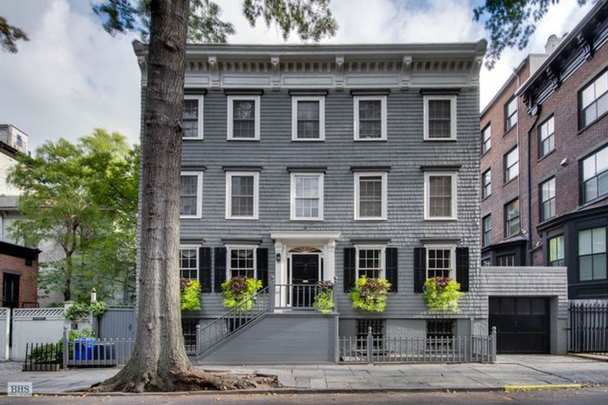 Truman Capote was inspired by this 105M Brooklyn Heights townhouse  Curbed NY