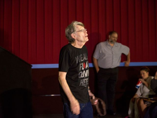 Stephen King at a screening of <em>It</em> in 2017.