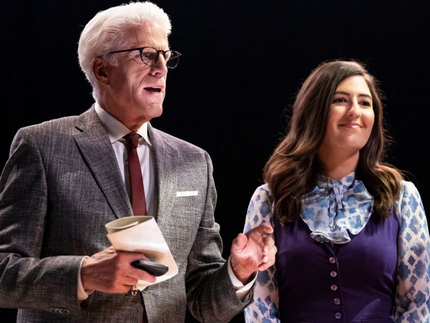 D'Arcy Carden gets to go to work with Ted Danson every day, which, honestly, sounds pretty great.