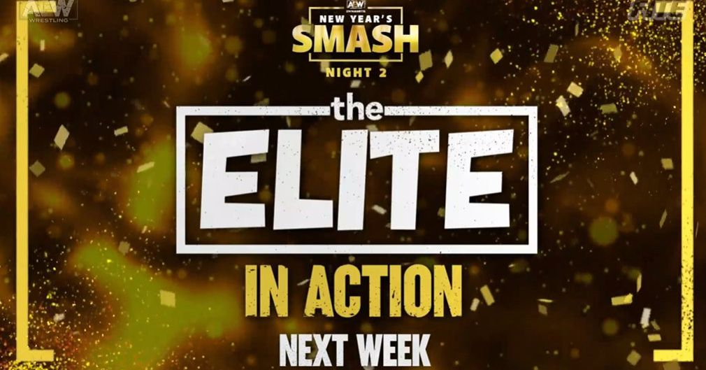 The Elite will be in action on New Year's Smash night two