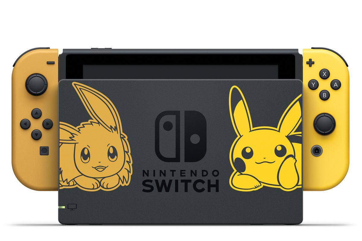 Pokémon: Let's Go! special-edition Nintendo Switch bundle is adorable - Polygon