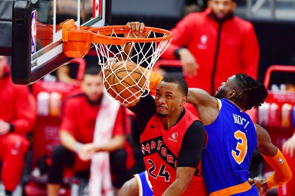 Game Recap: Toronto Raptors notch first win, beat New York Knicks 100-83 -  Raptors HQ