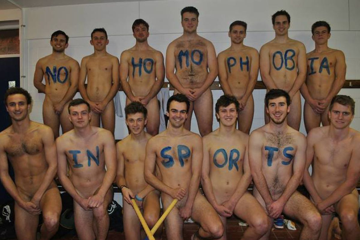 Mens Field Hockey Team Gets Naked To Fight Homophobia In Sports