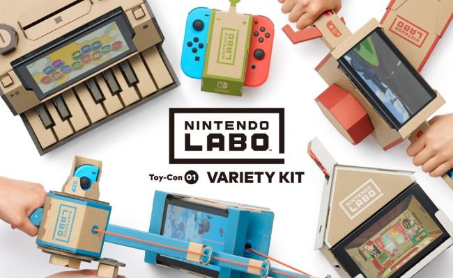 Nintendo Labo Build Times How Long Is Each Project Polygon